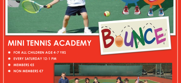 Bounce Academy Parents for Tennis?