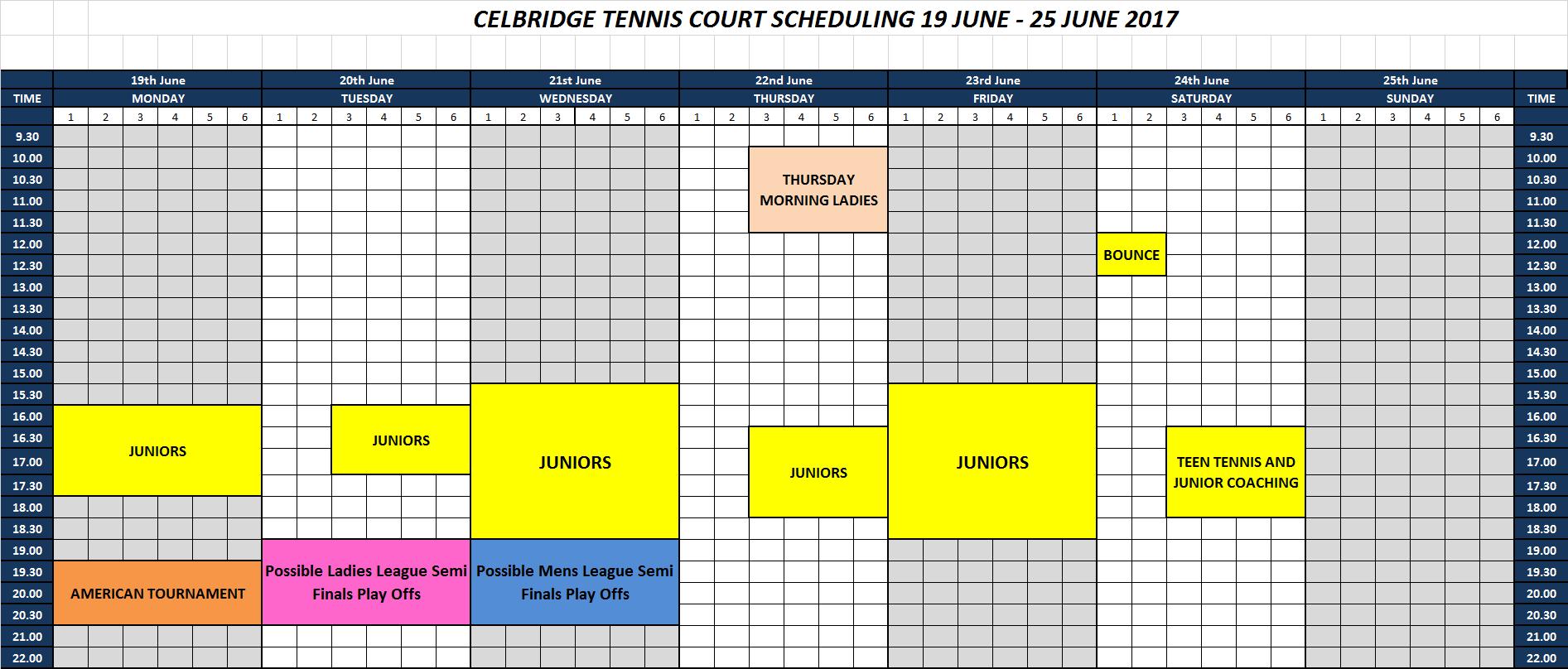 19-25 June